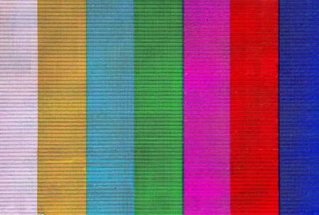 Colorful stripes on lcd screen photo