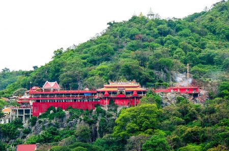 immortal: Joss house  on sri chang island,Sriracha province,Thailand