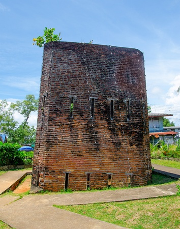 Old jail in chantaburi province,Thailand photo