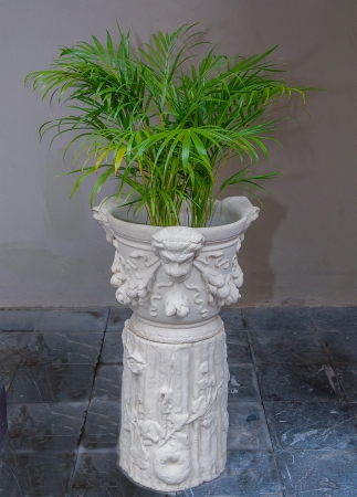 Beautiful of ornament in earthenware photo