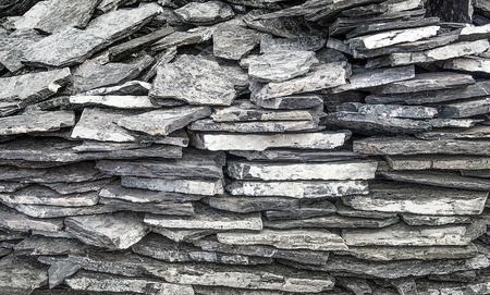 Slate stone wall background texture photo
