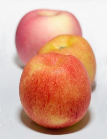 Closeup of fresh apple photo