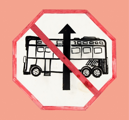no entrance: Reg�strate ninguna entrada bus