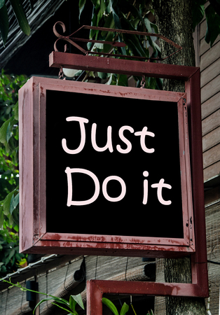 do: just do it sign
