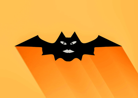Bat Halloween vector illustration illustration