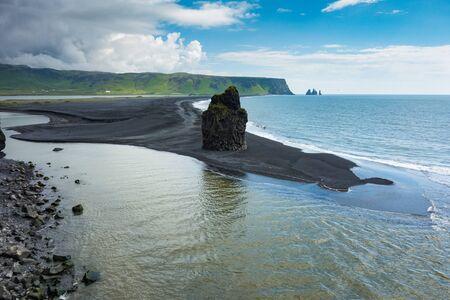 promontory: Dyrholaey promontory, Iceland Stock Photo
