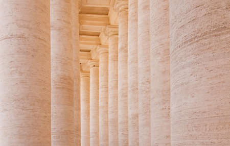 peter's: Columns at St Peters Square
