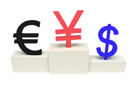 currencies: top currencies, strong Yen, isolated