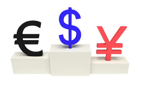 currencies: top currencies, strong US Dollar, isolated