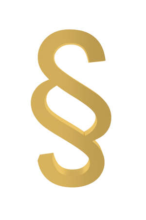 golden section: Law: golden section sign, isolated