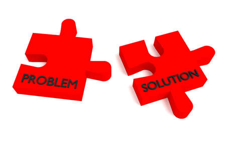 problem solution: Red puzzle, problem and solution
