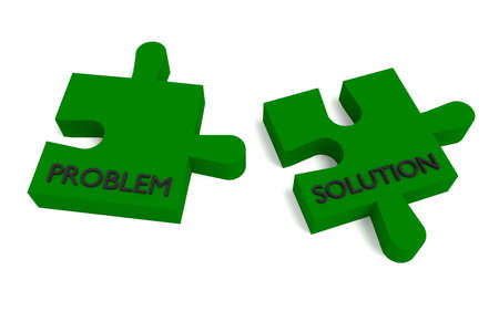problem solution: Green puzzle, problem and solution