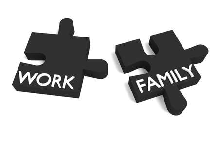 compatible: Black Puzzle, work and family