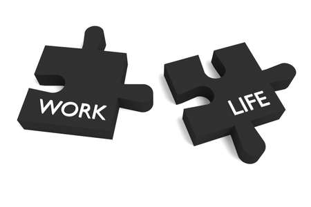 compatible: Black Puzzle, work and life