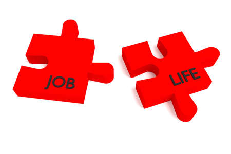 compatible: Red Puzzle, job and life