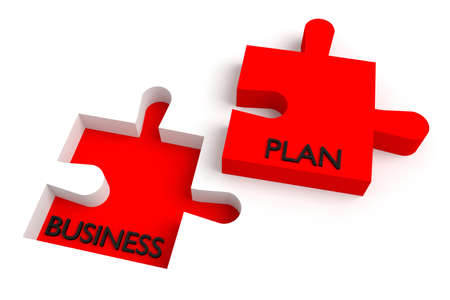 missing puzzle piece: Missing puzzle piece, business plan, red