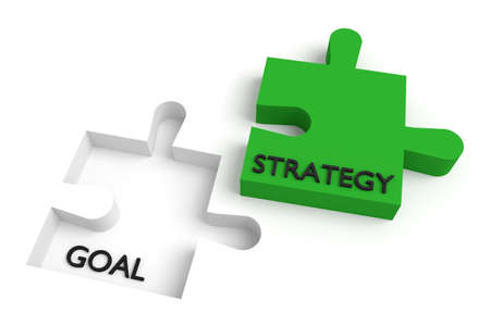 Ontbrekende puzzelstukje, de strategie en het doel, groen