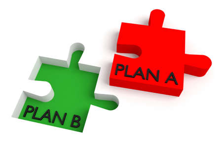 missing puzzle piece: Missing puzzle piece, plan a, plan b, red and green