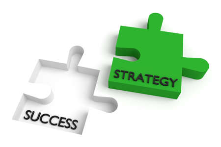 missing: Missing puzzle piece, strategy and success, green