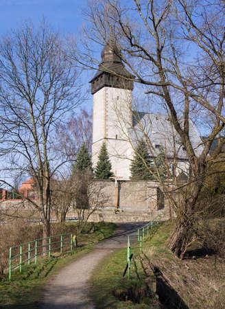 poland: Medieval church, Siedlecin, Poland