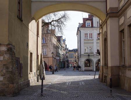 gora: townhall square, Jelenia Gora, Poland