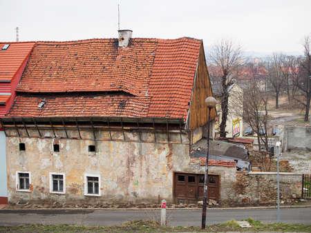 gora: Ruinous house, Jelenia Gora, Poland