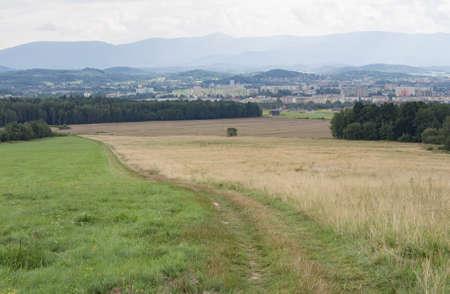 gora: Path In A Hilly Landscape, Jelenia Gora, Silesia, Poland