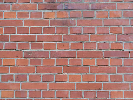 red wall: Red Brick Wall, Background Texture Stock Photo