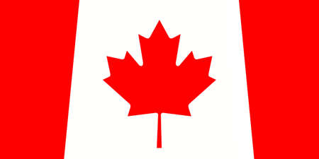 canadian maple leaf: Canada: Canadian Maple Leaf Flag, 3d illustration Stock Photo