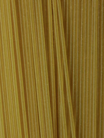 Close-up of Uncooked Spaghetti, Top View Background Texture Imagens