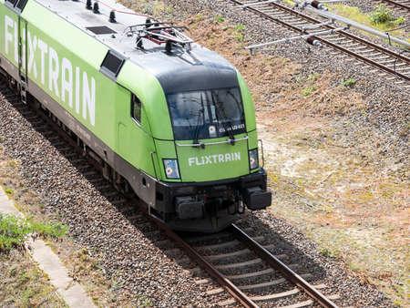 Flixtrain Train In Berlin, Germany