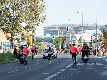 Winner Gotytom Gebreslase At Berlin Marathon 2021