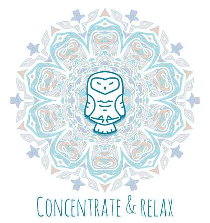 Meditación serie de animales. Figuras de animales sentados en posición de loto. Buenas para el diseño de postales, material impreso para aquellos que están involucrados en el yoga. Todas las cifras están aisladas.