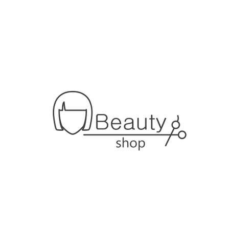 beauty shop: Beauty shop Illustration