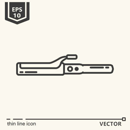 rulos: Hairdressing tools. Icons series. Hair curlers. Isolated object EPS 10
