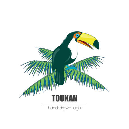 nice looking hand-drawn logo (icon, illustration) touckan