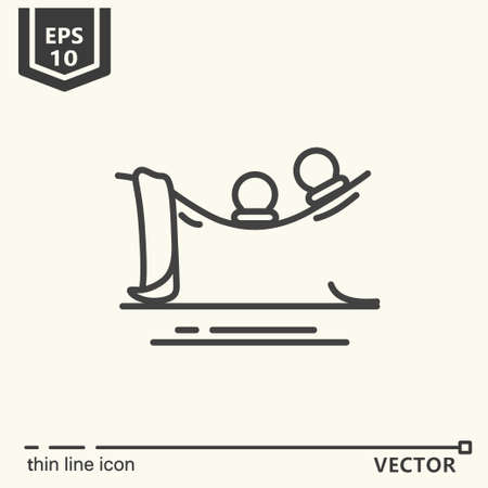 Type of massage - icon series. EPS 10. Isolated objects