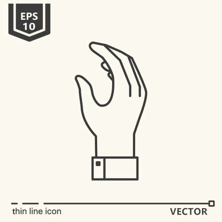Casino theme. Vector single isolated icon. EPS 10 向量圖像