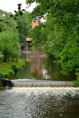 Beautiful View Of Historical Small Town In Germany Wienhausen