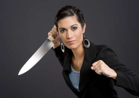 good looking woman: Back Stabber