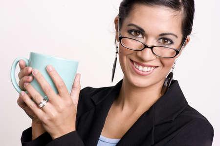 Pretty Coffee Drinker