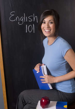 learn english: Back to School Stock Photo