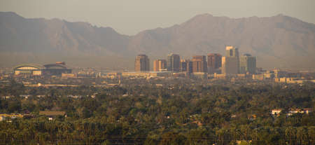 Phoenix Arizona Skyline photo