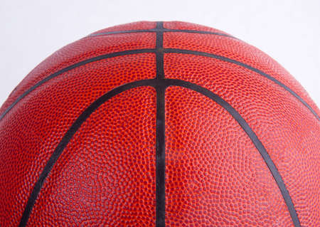 Orange basket ball, photo on the white background  photo