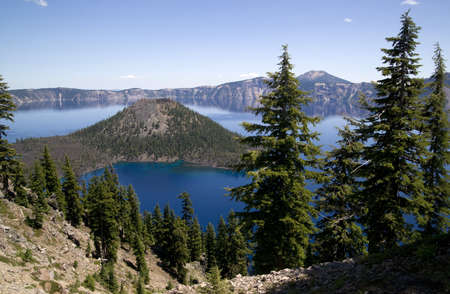 Crater Lake Oregon Unites States North America photo