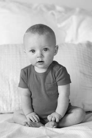 6 month old Boy Stock Photo - 15649331