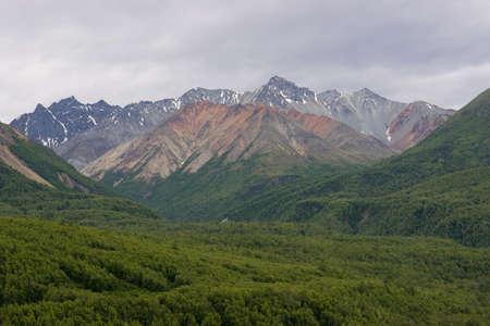 rugged terrain: Alaska Wilderness and the Chugach Mountains