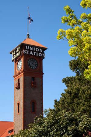 portland oregon: Union Station in Portland Oregon North America