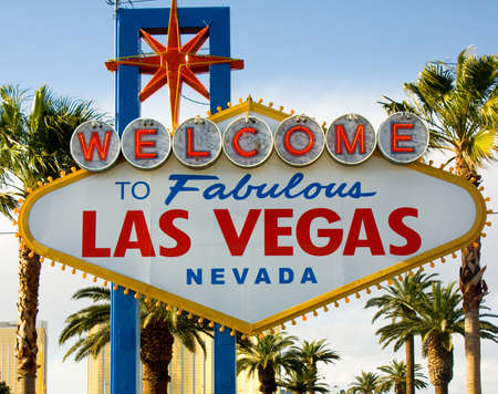 Welcome to Las Vegas Nevada Sign