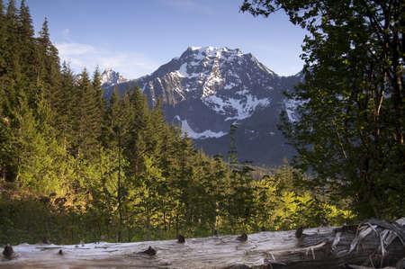 four peaks wilderness: High alpine ridge North Cascade Range North America